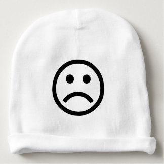 Sad Face Baby Beanie