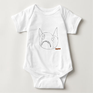 Sad Face Baby Bodysuit