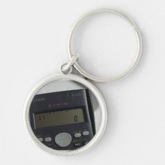 Sad face calculator keychain