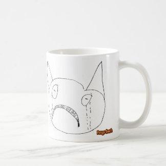 Sad Face Classic White Coffee Mug