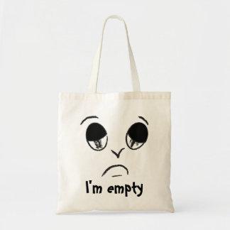 Sad face - I'm empty! Tote Bag