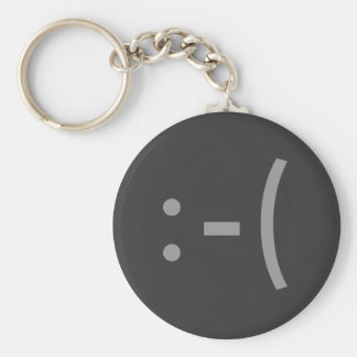 Sad Face Keychain