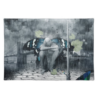 Sad Fairy Cloth Placemat