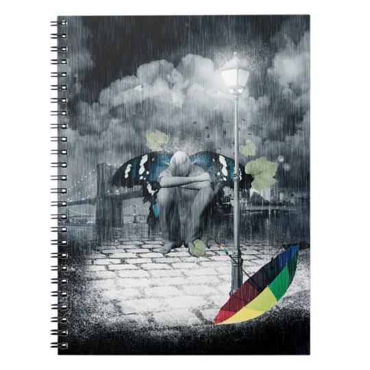 Sad Fairy Notebook