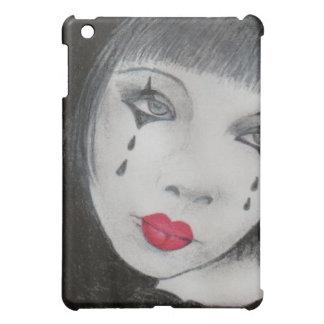 Sad Female Mime iPad Mini Case