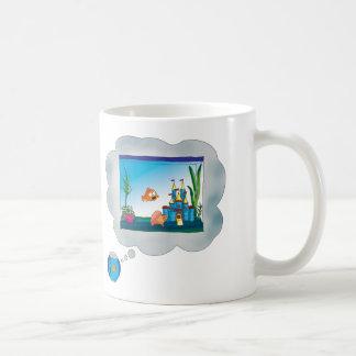 Sad Fish Classic White Coffee Mug