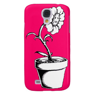 Sad Flower Galaxy S4 Case