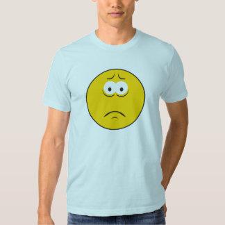 Sad Frowning Smiley Face T-Shirt
