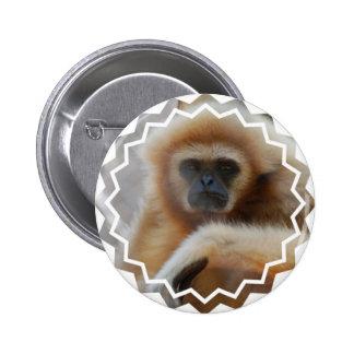 Sad Gibbon Pin