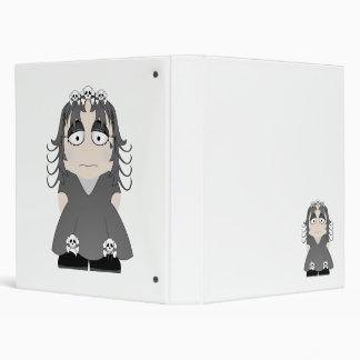 Sad Gothic Princess Vinyl Binders