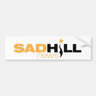 Sad Hill News Bumper Sticker Car Bumper Sticker