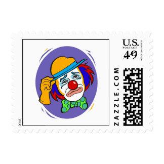 Sad Hobo Stamp