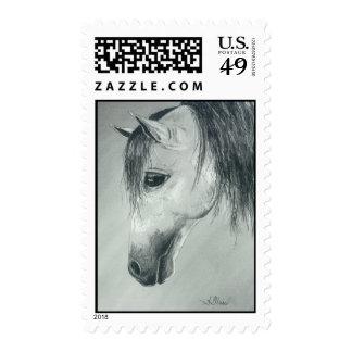 Sad Horse Stamps