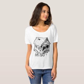 SAD HOUSE III by JUSTIN AERNI T-Shirt