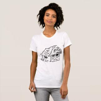 SAD HOUSE VI by JUSTIN AERNI T-Shirt
