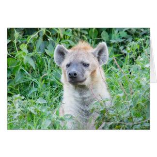 Sad Hyena is Sad Card
