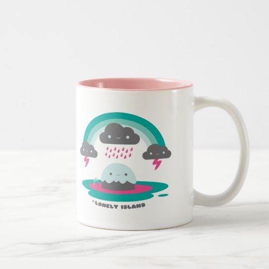 Sad Island 2 Two-Tone Coffee Mug
