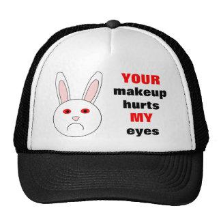 Sad Lab Rabbit Hat