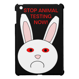 Sad Lab Rabbit iPad Mini Case