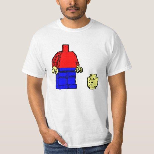 Sad Leggo Man T-Shirt