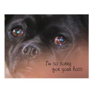Sad lil Dog- customize Postcard