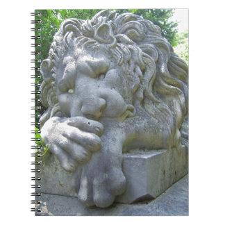 Sad Lion notebook