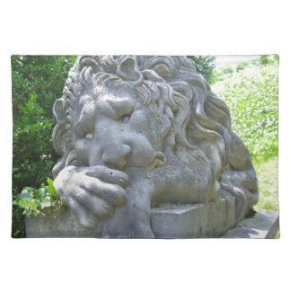 Sad Lion placemat