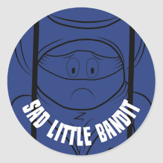 Sad Little Bandit Sticker