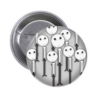 Sad Little Boy Button