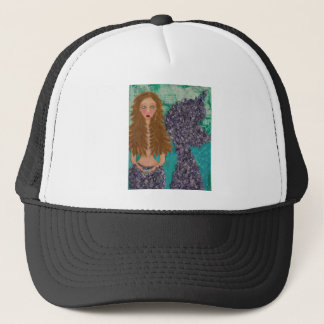 sad little mermaid.jpg trucker hat