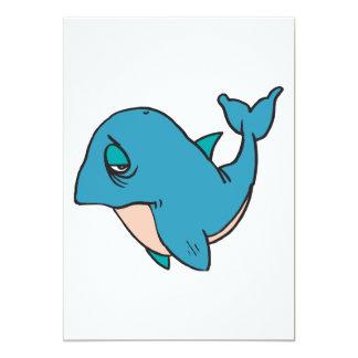 sad little whale card