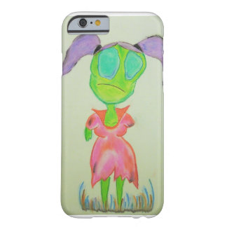 Sad little zombie girl Iphone case. Barely There iPhone 6 Case