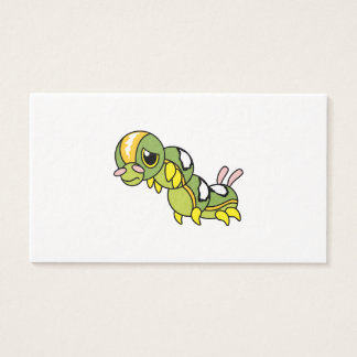 Sad Lonely Crying Weeping Caterpillar Card Stamp