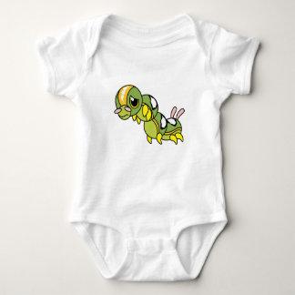 Sad Lonely Crying Weeping Caterpillar Kid Shirts