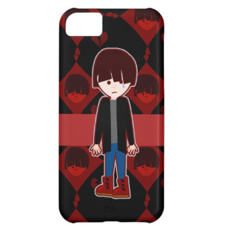 Sad Lonely Emo Boy iPhone 5C Case