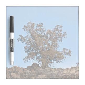 Sad Lonely Tree Dry-Erase Whiteboard