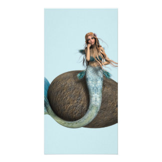 Sad Mermaid Card