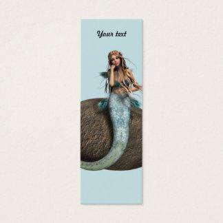 Sad Mermaid Mini Business Card