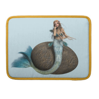 Sad Mermaid Sleeve For MacBooks
