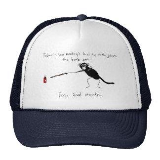 Sad Monkey Bomb Squad Trucker Hat