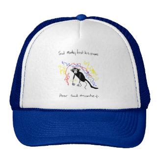 Sad Monkey Lost His Crayons Trucker Hat