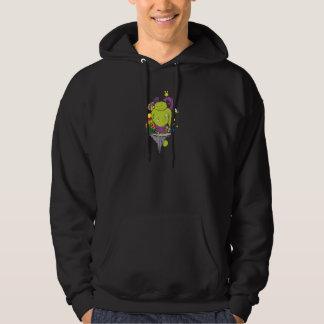 sad monster and friends vector cartoon art hoodie