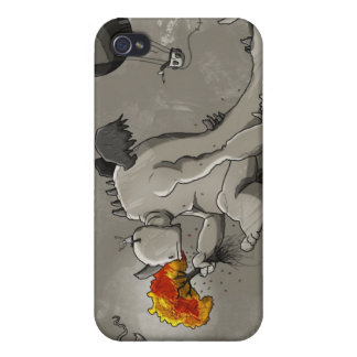 Sad Monster Will Destroy the Environment iPhone 4/4S Case