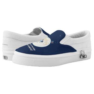 Sad Moon Slip-On Sneakers