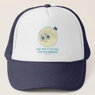 Sad Moon Trucker Hat