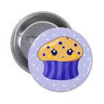 Sad Muffin 2 Inch Round Button