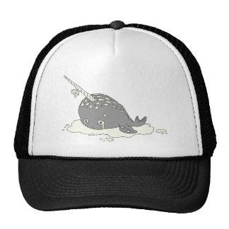 Sad Narwhal Trucker Hat