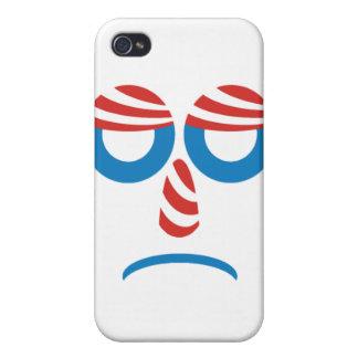Sad Obama Face iPhone 4 Covers