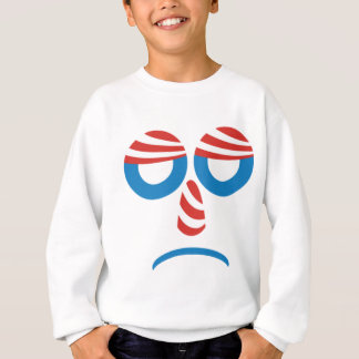 Sad Obama Face Sweatshirt