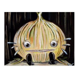 Sad Onion Postcard Postcards